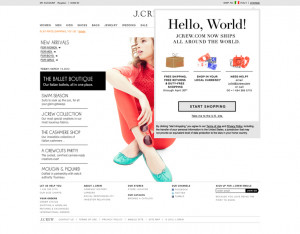 This morning, U.S. apparel retailer J.Crew expanded its international ...