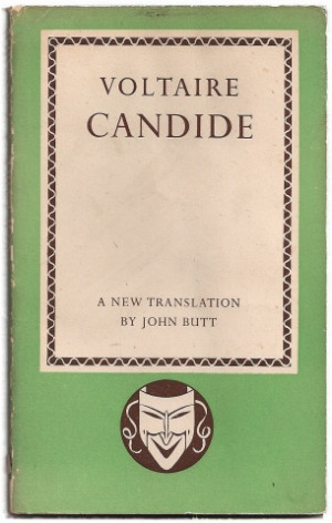 Candide by Voltaire I read this in High School in French Class