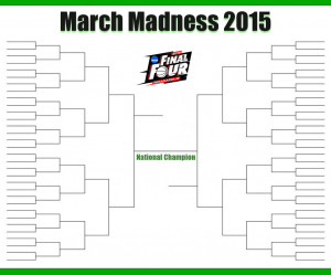 2015 NCAA March Madness Bracket