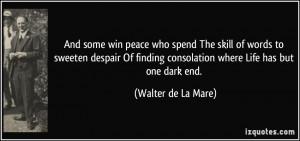 More Walter de La Mare Quotes