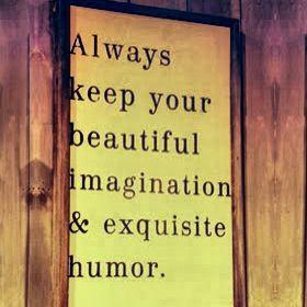 ... imagination & exquisite humor.