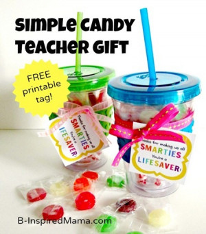 ... filled with lifesavers and smarties candy teacher appreciation gift
