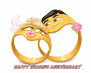 Happy Wedding Anniversary Funny HD Wallpaper