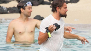 Tobey Maguire was seen holidaying and snorkeling in Hawaii with his ...