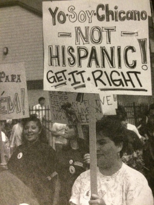 Chicano Quotes Tumblr Yo soy chicano not hispanic!