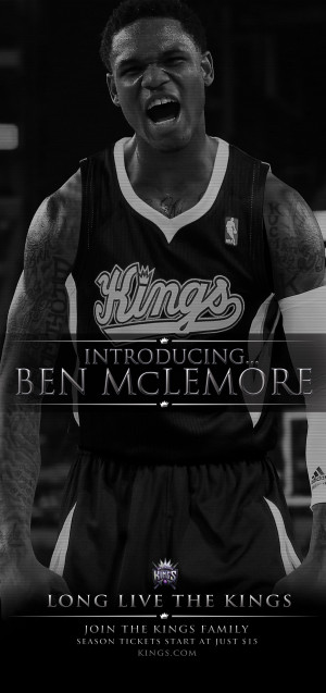 inside look kings draft room ben mclemore post draft quotes he was our ...