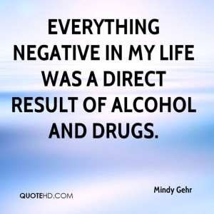 Negative Alcohol Quotes And drugs - alcohol quote