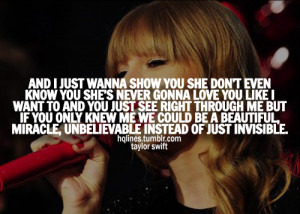 hqlines, life, love, lyrics, music, quotes, sayings, taylor swift