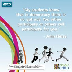 ... to build active citizenship in the classroom. #teachers #students