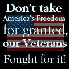 our military THANK YOU