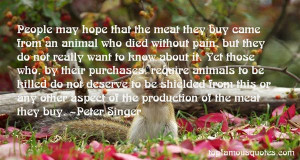 Top Quotes About Meat Production