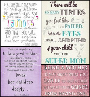 Happy Mother's Day!!- Quotes on Motherhood