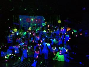 Sweet Sixteen Glow Party...