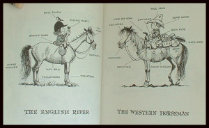 ... West? Lots of funny comparisons. Please note: THIS BOOK HAS BEEN SOLD