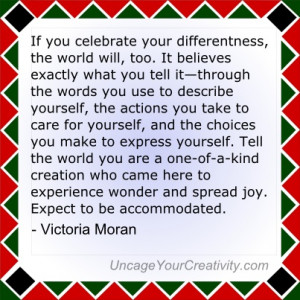 ... and spread joy. Expect to be accommodated. - Victoria Moran #Quote