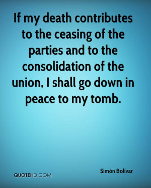 If my death contributes to the ceasing of the parties and to the ...