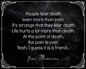 Jim Morrison quote.