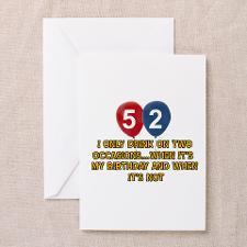 52 Birthday Greeting Cards
