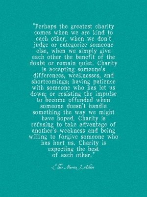 love this quote so much! It's from Marvin J. Ashton, and after ...