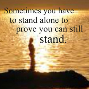 standing alone quotes6