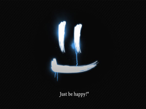 Just Be Happy Wallpaper HD wallpaper - Just Be Happy Wallpaper