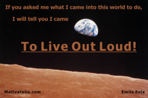 An inspirational picture of look at planet earth with the quote: If ...