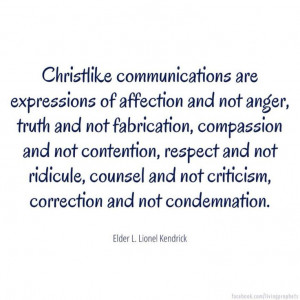 ... , correction and not condemnation.