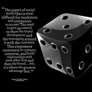 Quotes Picture: the aspect of social media that is most difficult for ...