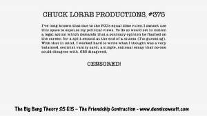 vanity cards with pithy sayings and odd quotes here are 10 chuck lorre ...