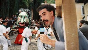 Stills from Borat (click for larger image)