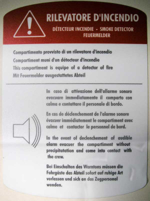 Sign that puts Italian translation off the rails!
