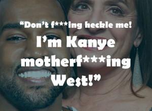 Patti, 2.) Kanye, 3.) Kanye, 4.) Patti, 5.) Patti, 6.) Kanye ...