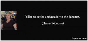 More Eleanor Mondale Quotes