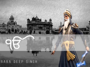 Sikh Warrior - Baba Deep Singh Ji