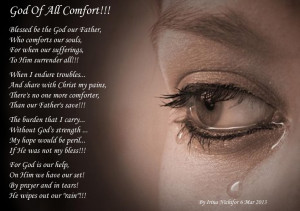 God of all Comfort!!!
