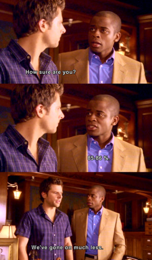 Shawn and Gus – Psych. (4 days left until the season premiere!)