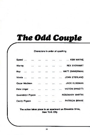 ... and cast list starring Jack Klugman, Victor Spinetti, Patricia Brake