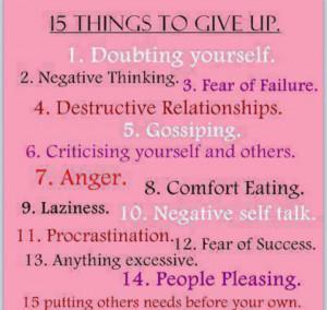 Recipe for success.