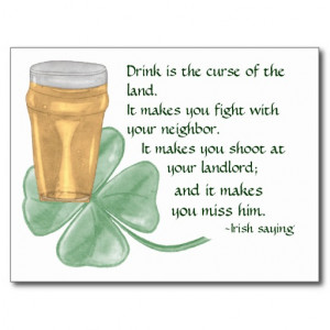 Funny Beer Quotes And Jokes Irish Quote About Drinking