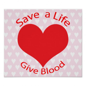 red_heart_save_a_life_organ_donation_poster_print ...