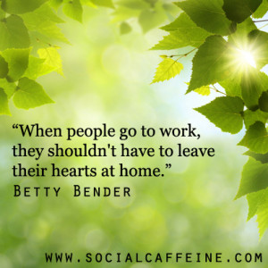 Buzzworthy Quote of the Day: Betty Bender