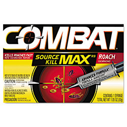 ... Source Kill Max Roach Killing Gel, 1.058oz Syringe, 12/Carton