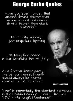 Top ten comedian quotes.