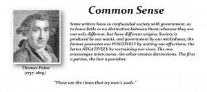 Common Sense – Thomas Paine