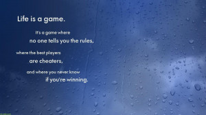 File Name : Blue Rain Drop Quotes Wallpaper