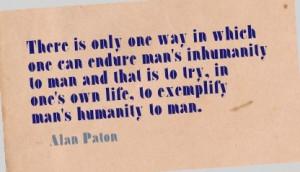 Alan Paton.