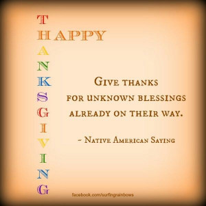 Thanksgiving Quotes | Cute Thanksgiving Quote | Positive Psychology