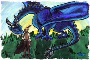 Eragon And Saphira Elizalento