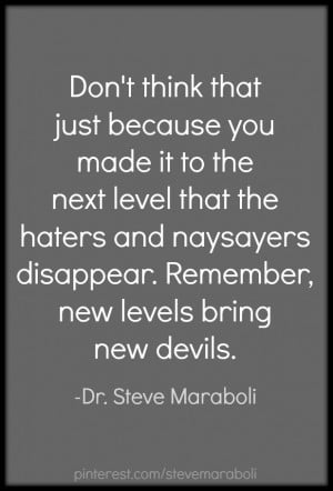 Quotes About Naysayers