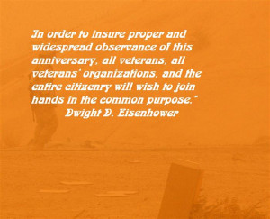 famous veterans day quotes by presidents dwight d eisenhower in